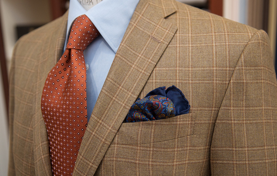 David Lance Suit Bespoke