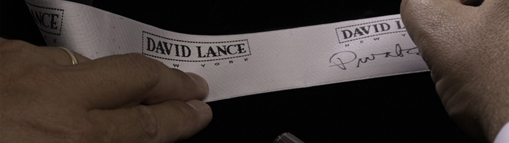 David Lance New York Ribbon