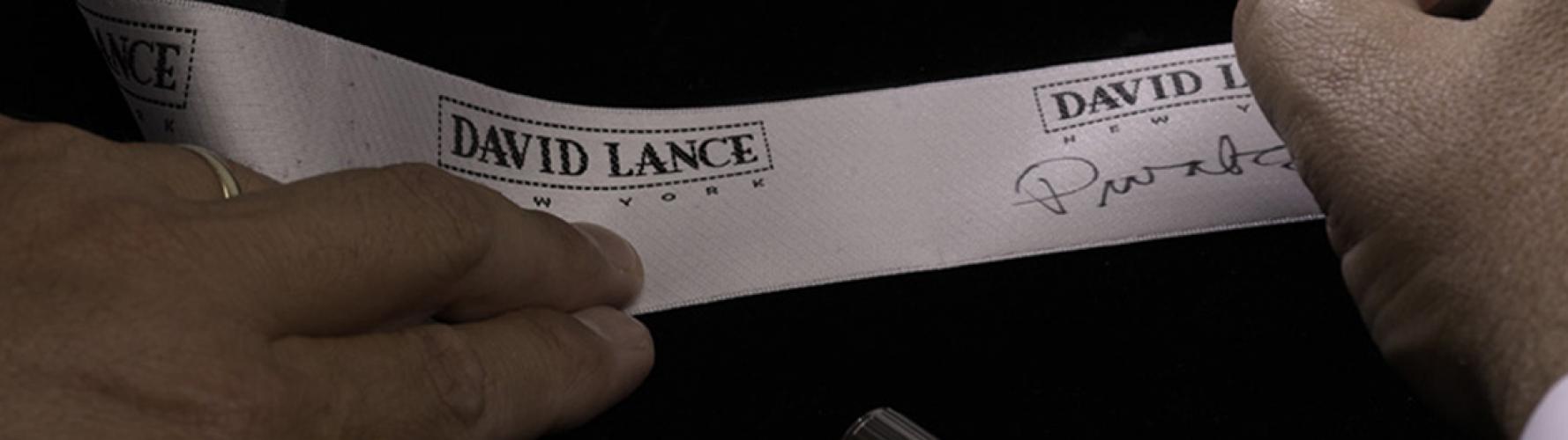 David Lance New York Ribbon